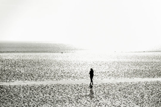 Glück am Meer
